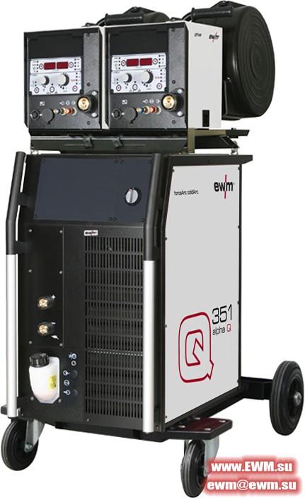 Сварочный аппарат EWM Alpha Q 351 MM 2DV FDW
