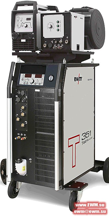 Сварочный аппарат EWM Tetrix 351 AC/DC Synergic AW FW hotwire
