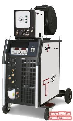 Сварочный аппарат EWM Tetrix 351 Synergic AW FW coldwire