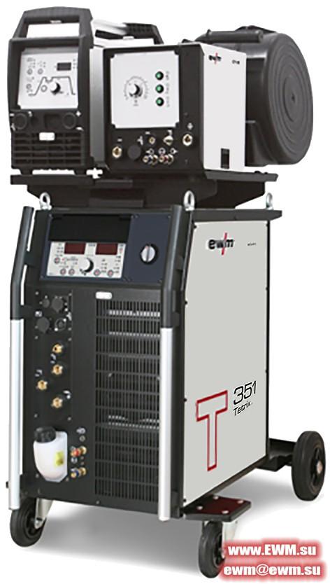 Сварочный аппарат EWM Tetrix 351 Synergic AW FW hotwire
