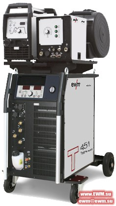 Сварочный аппарат EWM Tetrix 451 AC/DC Synergic AW FW coldwire
