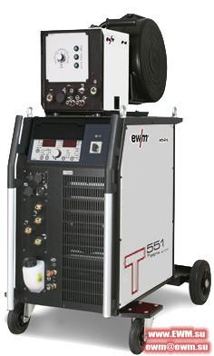 Сварочный аппарат EWM Tetrix 551 AC/DC Synergic AW FW coldwire