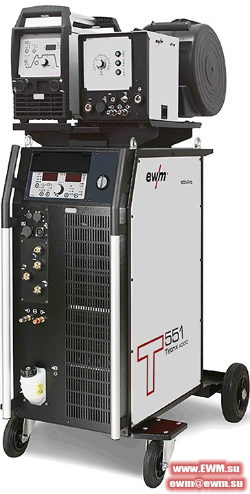 Сварочный аппарат EWM Tetrix 551 AC/DC Synergic AW FW hotwire