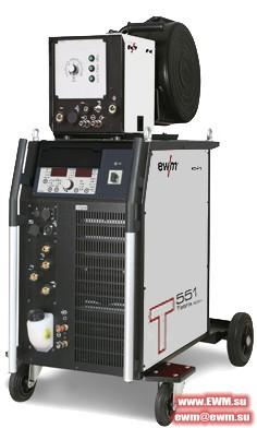 Сварочный аппарат EWM Tetrix 551 Synergic AW FW coldwire